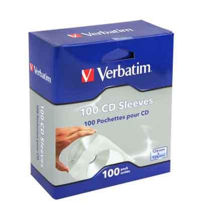 VERBATIM CD SLEEVES