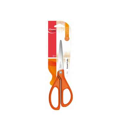 MAPED 21CM ESSENTIALS SCISSORS ORANGE
