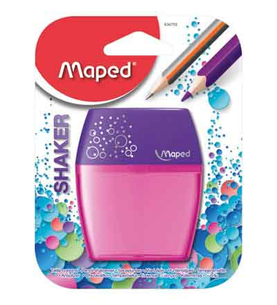 MAPED SHAKER 2 HOLE BARREL SHARPENER ASSORTED