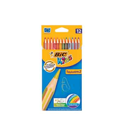BIC KIDS TROPICOL COLOUR (SET OF 12)