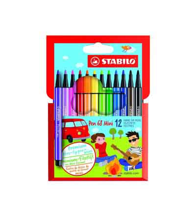 STABILO POINT 68 FIBRE TIP PENS