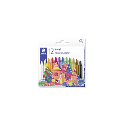 STAEDTLER NORIS CLUB WAX CRAYONS