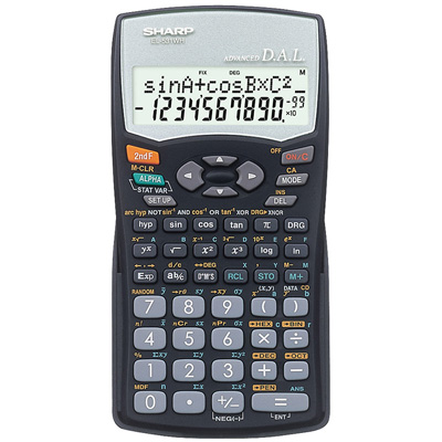 SHARP EL531 SCIENTIFIC CALCULATOR