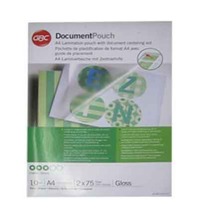 LAMINATING POUCHES REXEL A4 150MI (PACK OF 10)