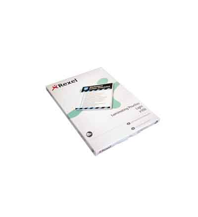 LAMINATING POUCHES REXEL A4 150MI (PACK OF 100)