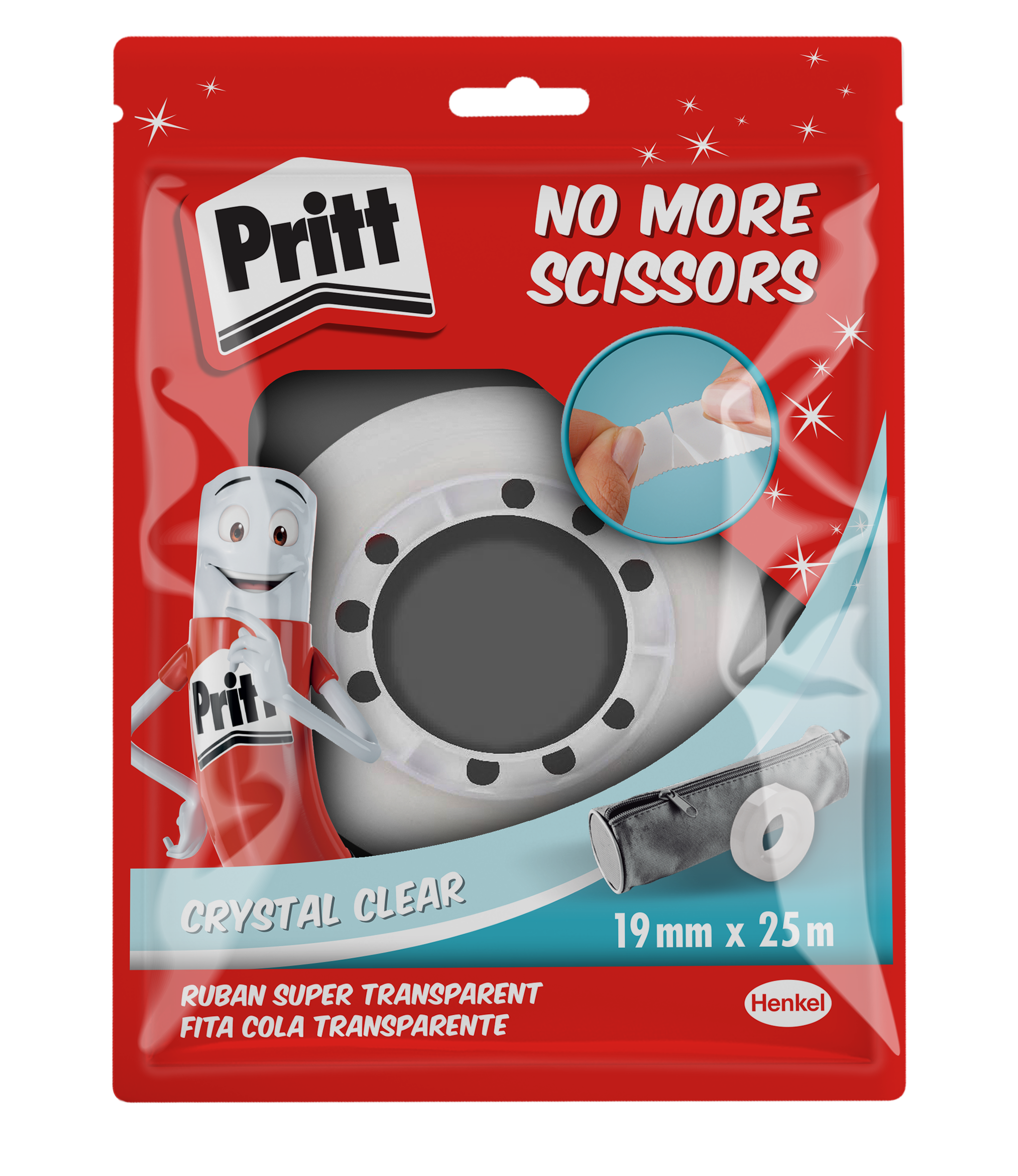 PRITT NO MORE SCISSORS