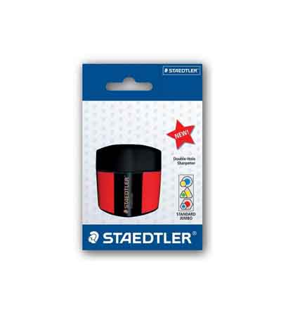 STAEDTLER SHARPENER DOUBLE HOLE TUB