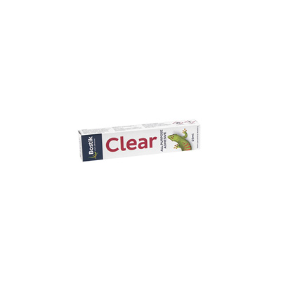 BOSTIK CLEAR ADHESIVE 25ML