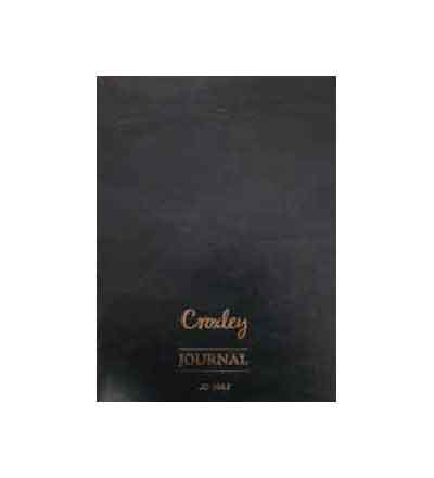 CROXLEY A4 2 QUIRE JOURNAL PAGED 192 PG