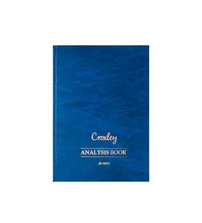 CROXLEY ANALYSIS BOOKS SERIES 6 10 CASH COLUMNS 2 PG