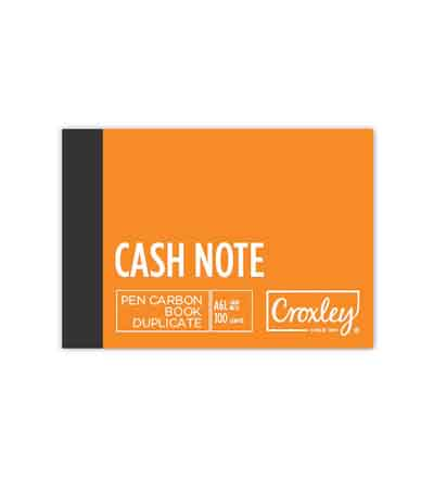 CROXLEY A6L DUPLICATE CREDIT NOTE CARBON BOOK