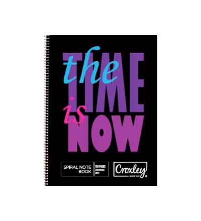 CROXLEY A5 SIDE BOUND NOTEBOOK 100 PG