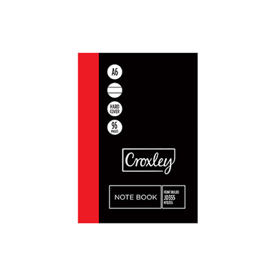 CROXLEY A6 JD355 NOTEBOOK 148X105MM 96 PG