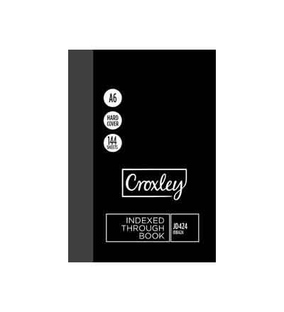 CROXLEY A6 A-Z INDEX BOOK 144 PG