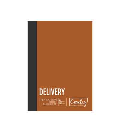 CROXLEY A5 TRIPLICATE DELIVERY CARBON BOOK 50 LEAVES