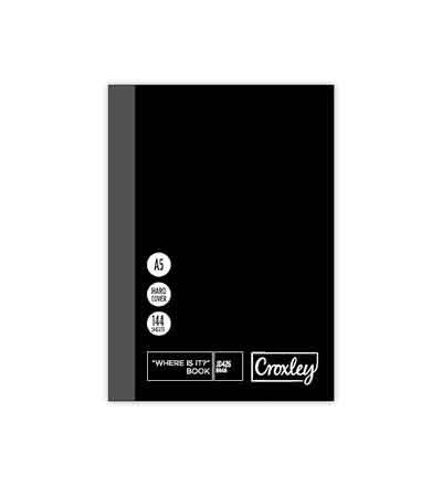 CROXLEY A5 A-Z INDEX BOOK 144 PG
