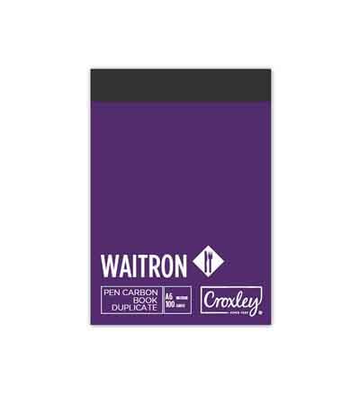 CROXLEY A6L DUPLICATE WAITER CARBON BOOK