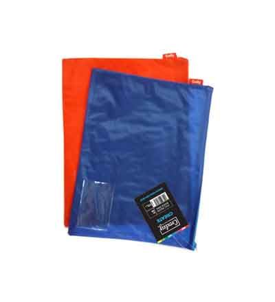 CROXLEY BOOK BAGS BRIGHT PVC NEON