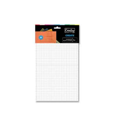CROXLEY A4 PRE CUT SELF ADHESIVE COVER (SET OF 5)
