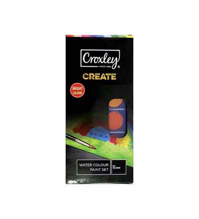 CROXLEY CREATE WATERCOLOUR PAINT SET (SET OF 12)