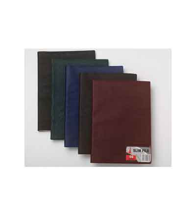 FLIP FILE SLIMFILE A4 RHINO HIDE POCKETS