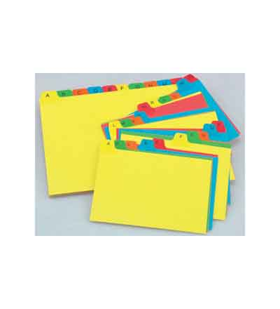 BANTEX INDEX DIVIDERS