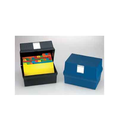 BANTEX CARD FILE BOX