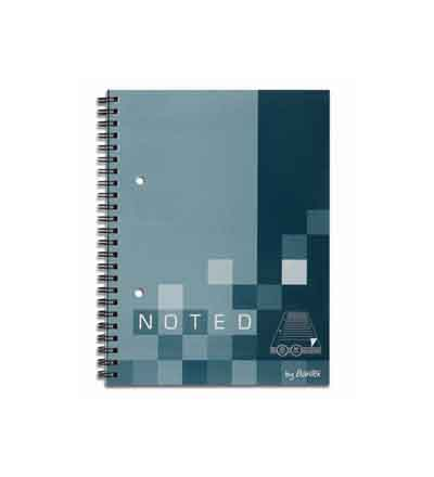 BANTEX SPIRAL BOUND SOFT COVER NOTEBOOKS