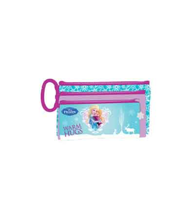 FROZEN PENCIL BAG 3 COMPARTMENT
