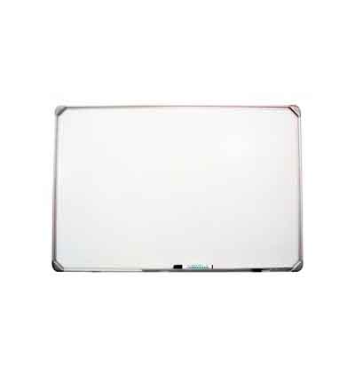 PARROT WHITEBOARD SLIMLINE NON MAGNETIC 600X450MM