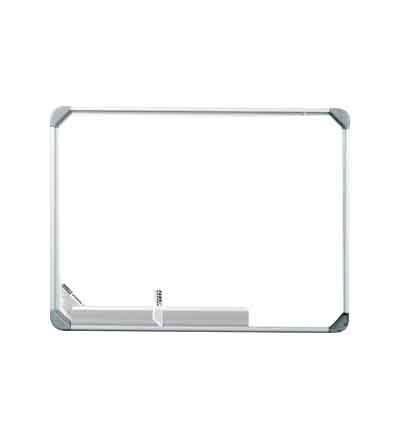 WHITEBOARD PARROT SLIMLINE MAGNETIC 600X450MM