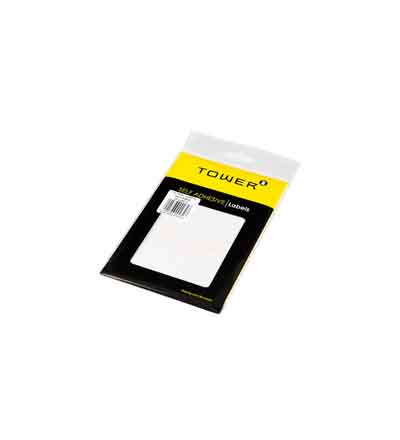 TOWER WHITE SHEET LABELS
