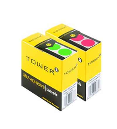 TOWER COLOUR CODE LABELS