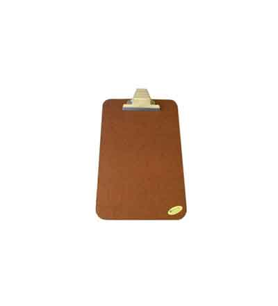TREFOIL MASONITE CLIPBOARD