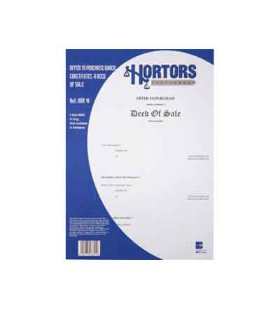 HORTORS OFFER TO PURCHASE DOCUMENTS