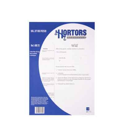 HORTORS LEASE COMMERCIAL PROPERTY DOCUMENTS