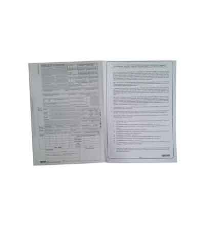 HORTORS PRE-PACKED CUSTOMS DECLARATION PAD DOCUMENTS