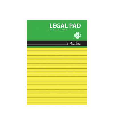 TREELINE A4 LEGAL PAD 80PG