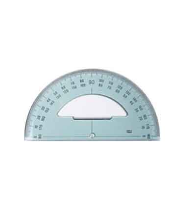 INTERSTAT PROTRACTOR 180? 15CM