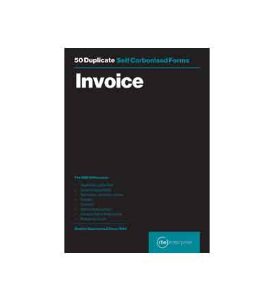 RBE DUPLICATE INVOICE PAD 50 SETS