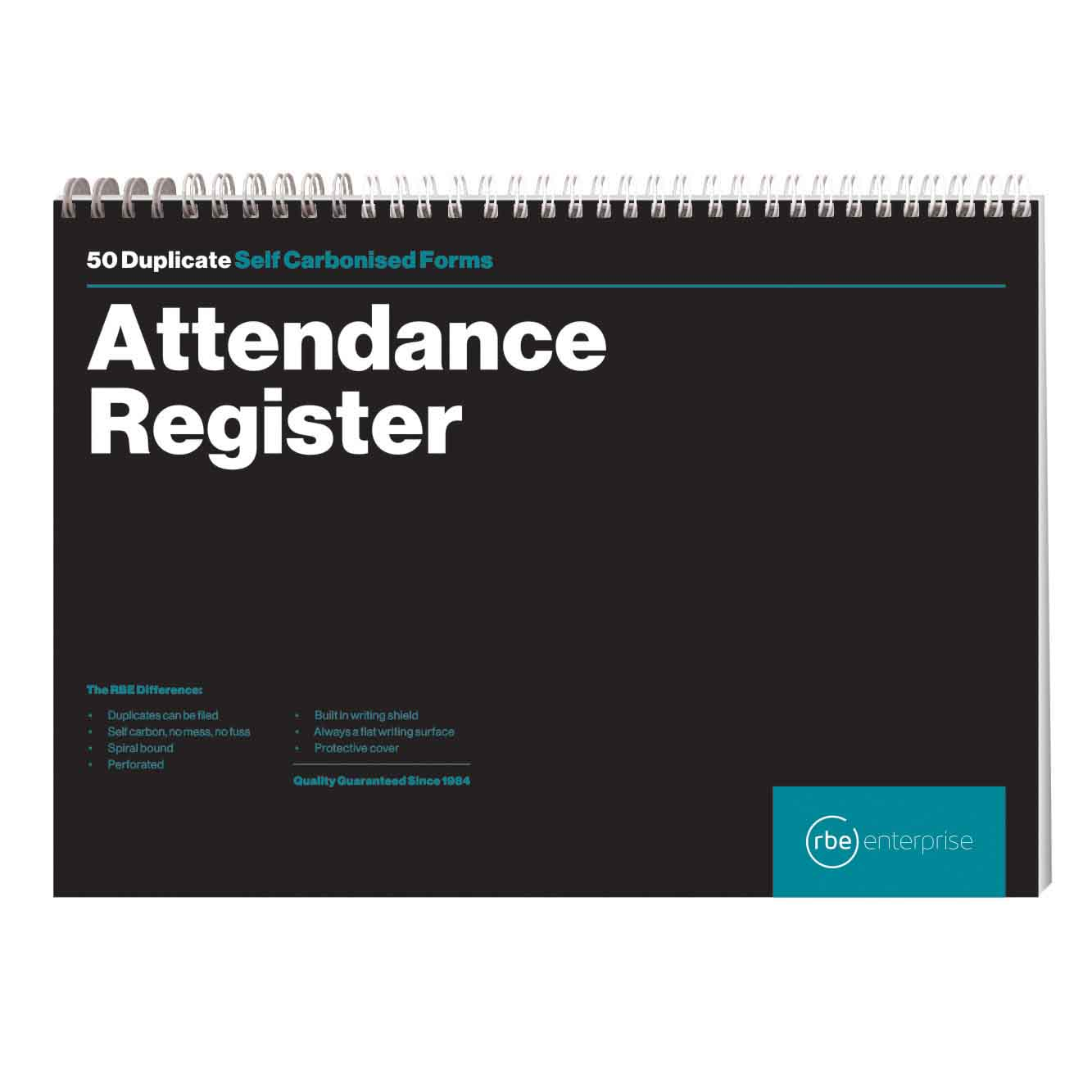 RBE A4 ATTENDANCE REGISTER BOOK 50
