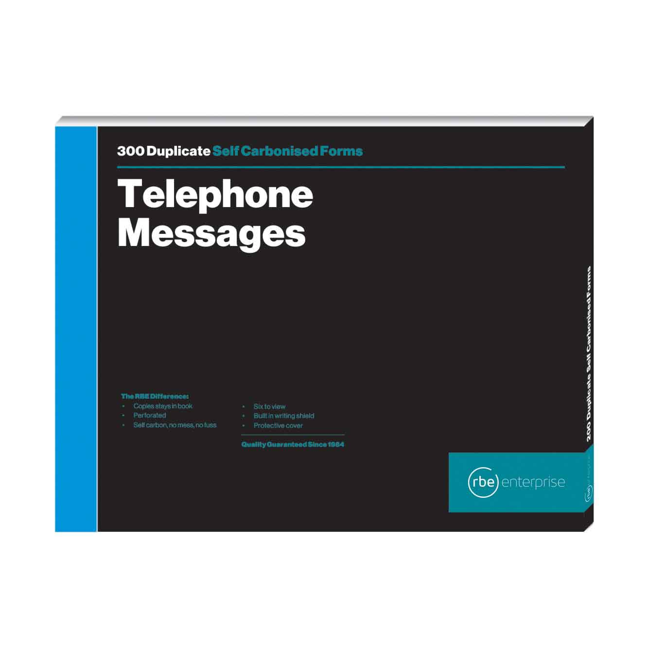 RBE TELEPHONE MESSAGE BOOK 6 TO VIEW (300)