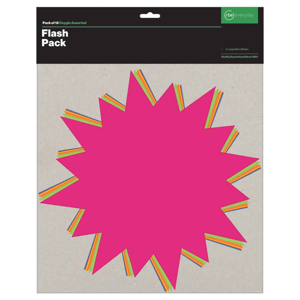 PAPERSMART FLASH PACKS - EXTRA LARGE