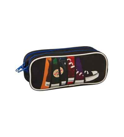 PENCIL BAG DOUBLE TEEN TOTEM