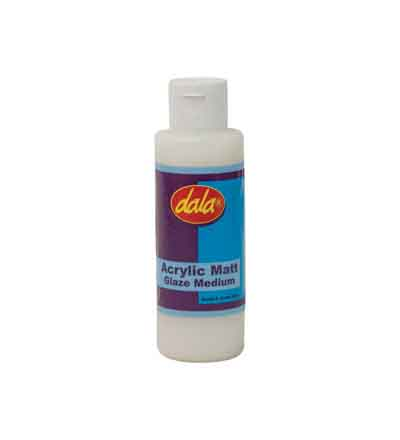 DALA ACRYLIC GLAZE MATT MEDIUM 125ML
