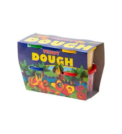 PLAY DOUGH 4 X 100G KIT