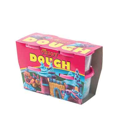 MISS TEDDY PLAY DOUGH KIT 4 X 100G