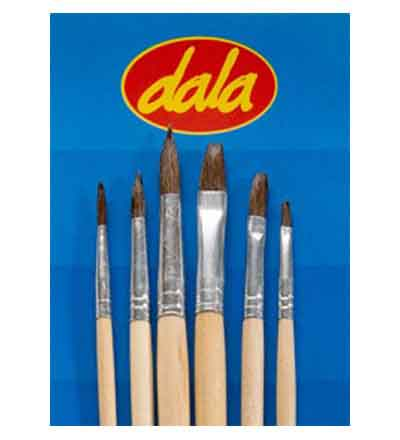 DALA ECONOMY PONY BRISTLE (SET OF 6)