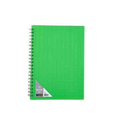 MEECO A4 NOTEBOOKS NEON