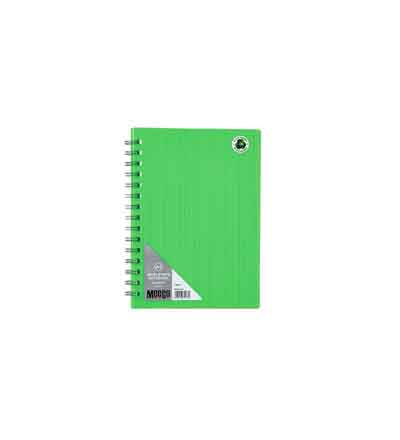 MEECO A5 NOTEBOOKS NEON